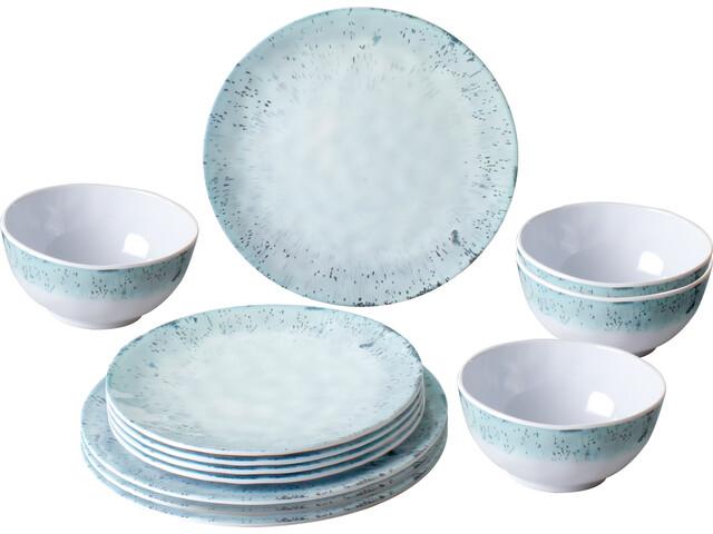 Brunner Midday Service à vaisselles, design amalfi